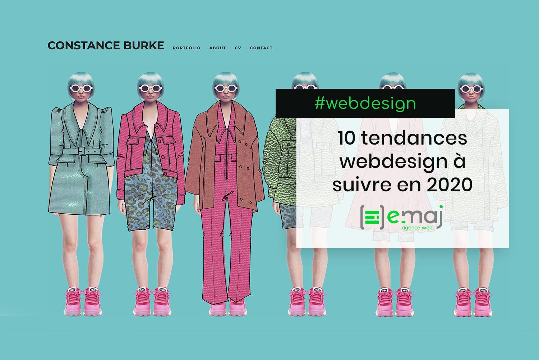 10 Tendances en webdesign à suivre en 2020