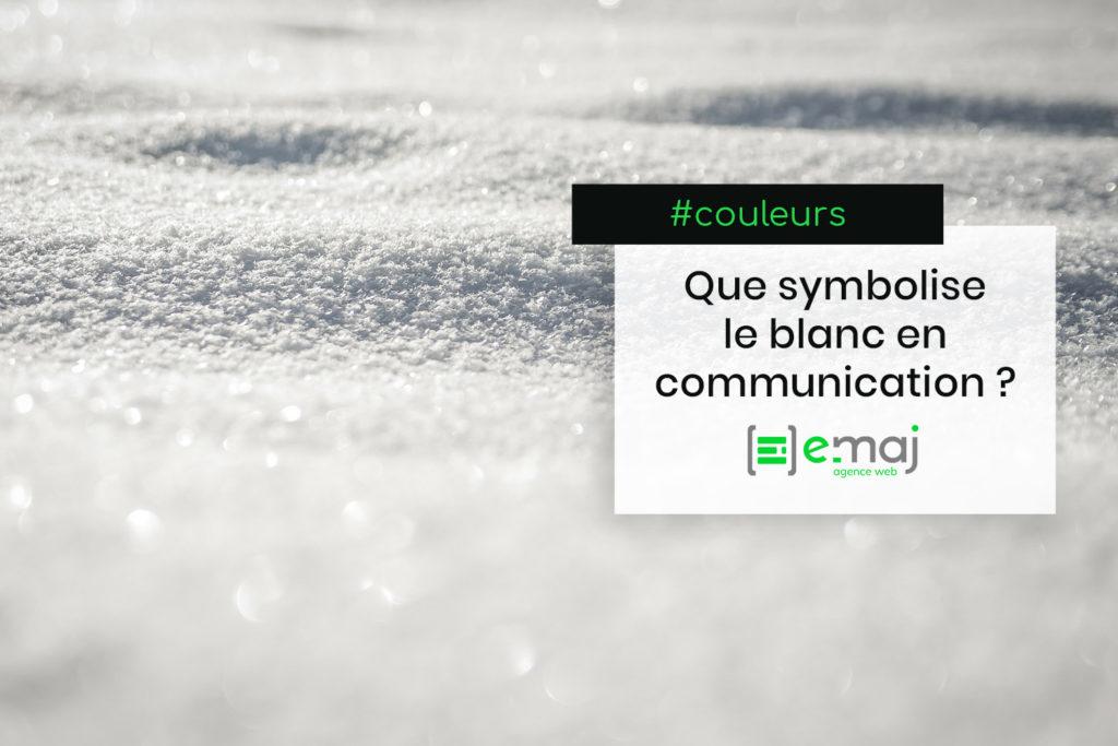 Symbolique des couleurs : le blanc en communication