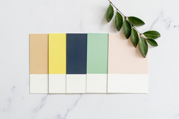 Une bonne palette est souvent constituée de 5 à 6 teintes maximum | Source photo