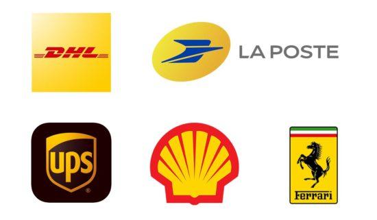 En marketing, la couleur jaune est associée à la vigueur, la vitesse et la tonicité