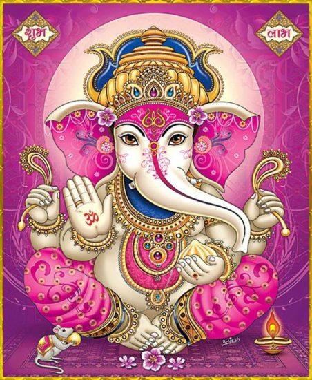 En Inde, c'est la couleur du dieu Ganesh le sage | Source photo
