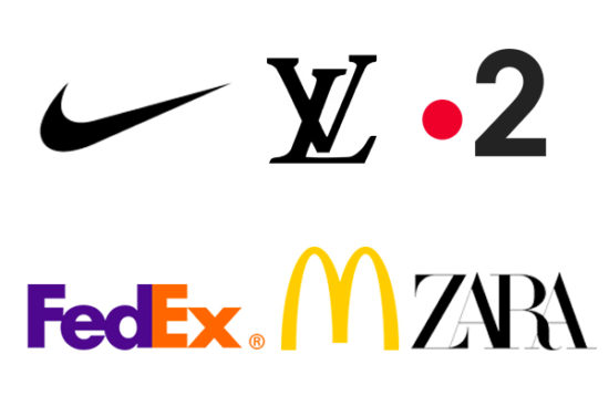 exemple logo minimaliste