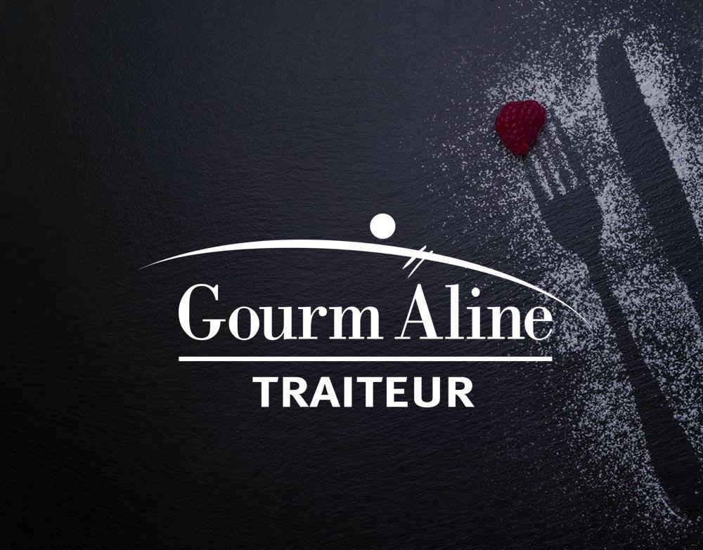 Gourm'Aline : réalisation site web traiteur Lorraine