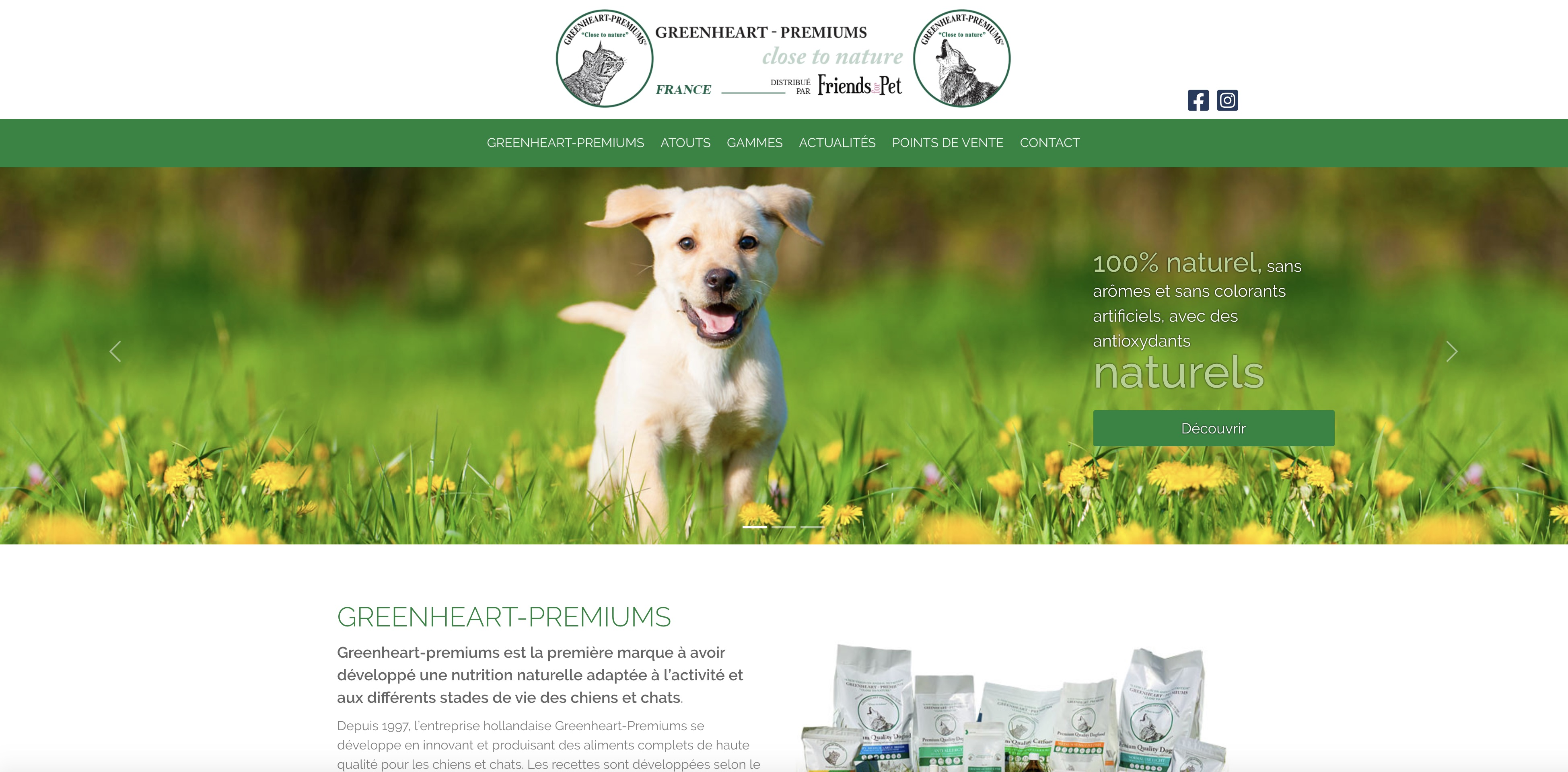 Greenheart Premiums - Site one page