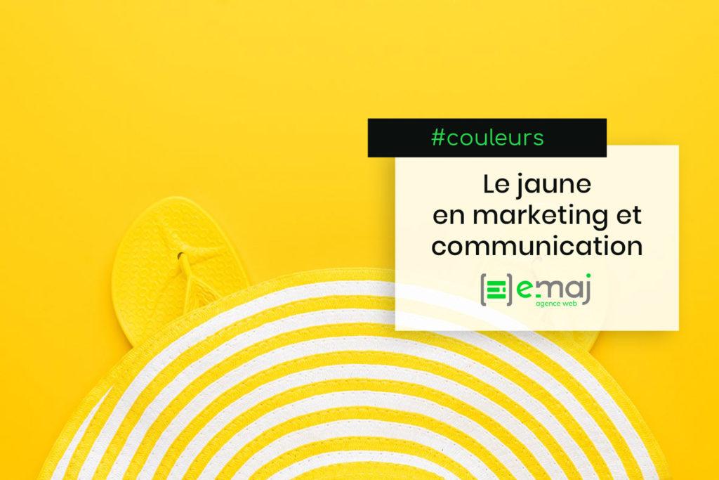 Couleurs en marketing et communication : le jaune