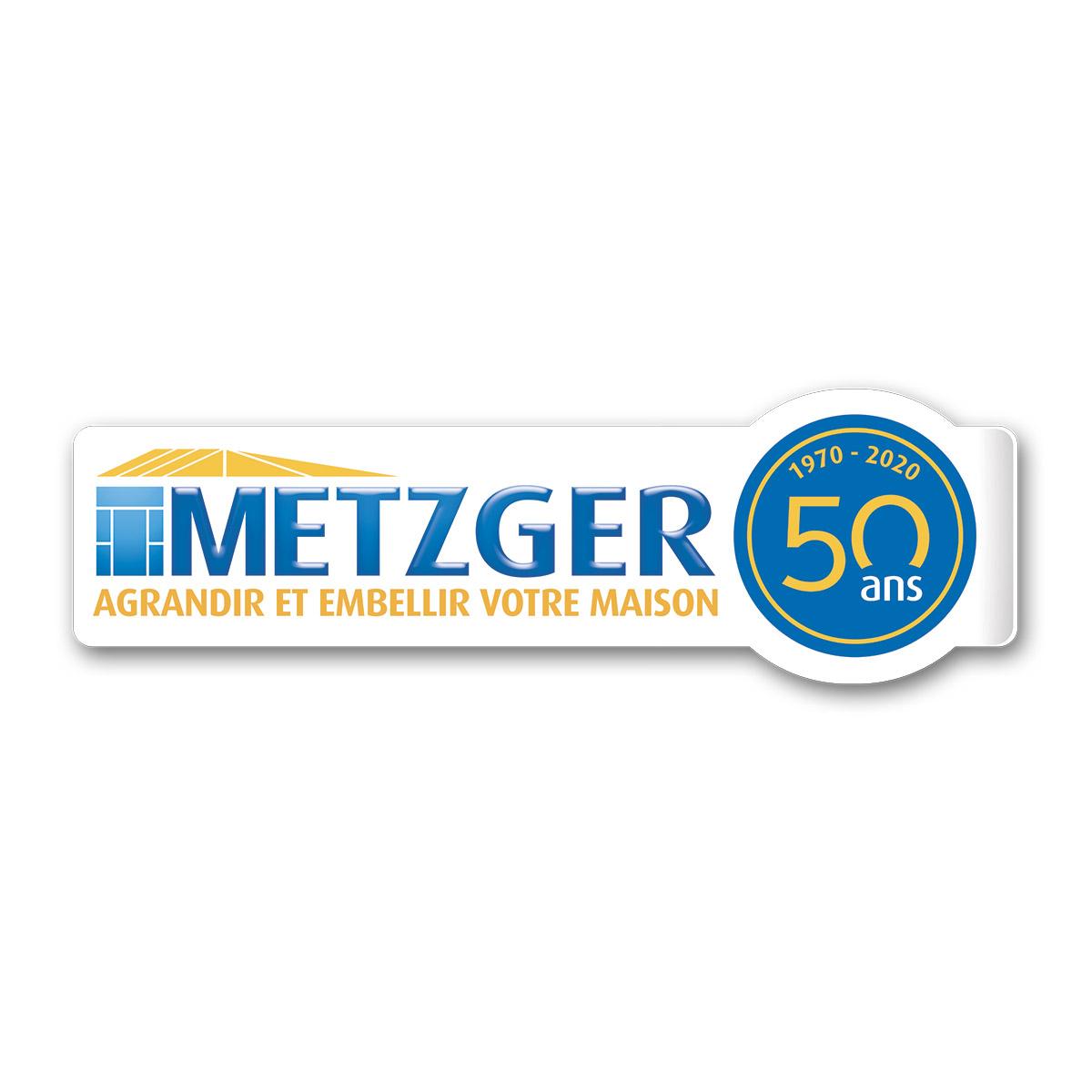 Refonte logo Metzger