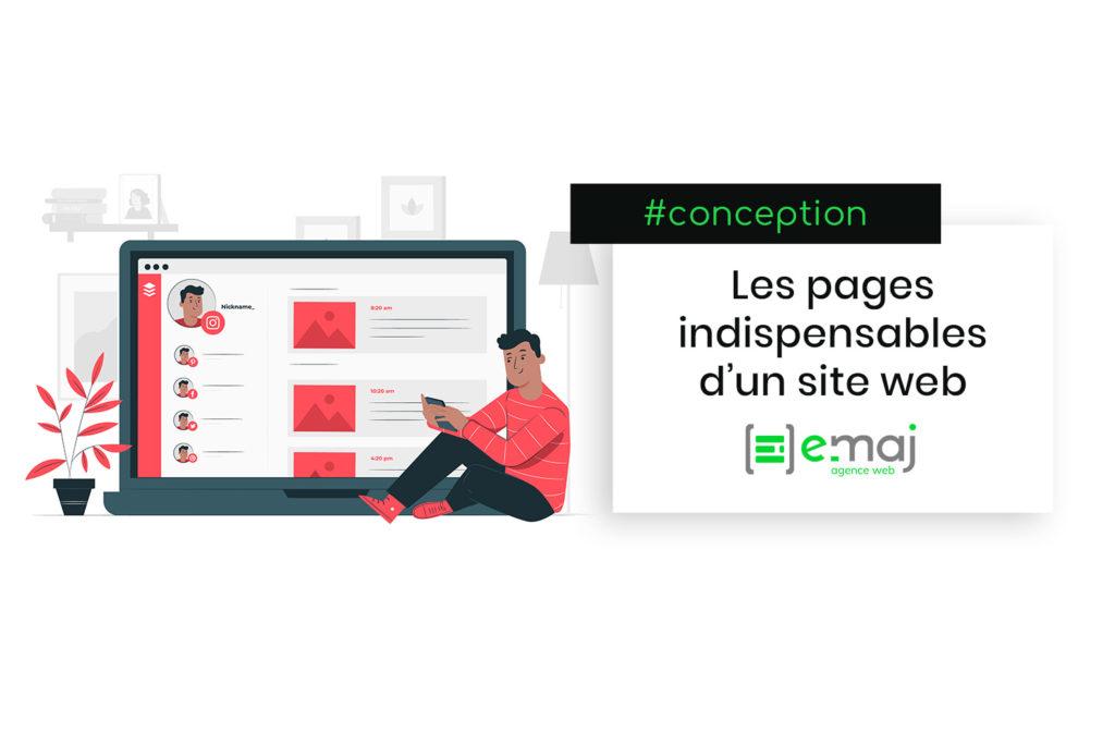 Quelles sont les pages indispensables d'un site web ?