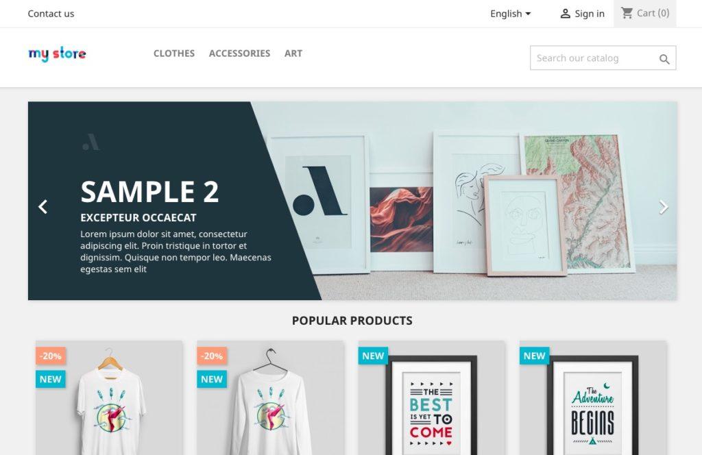 Prestashop : de nombreux thèmes et modules pour personnaliser son e-commerce