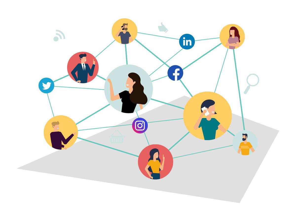 E-Maj Agence Web - Référencement social - SMO