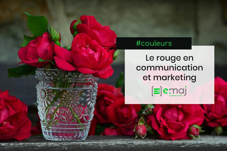 Que signifie la couleur rouge en communication et marketing ?