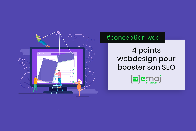 4 points webdesign à travailler pour optimiser le référencement SEO